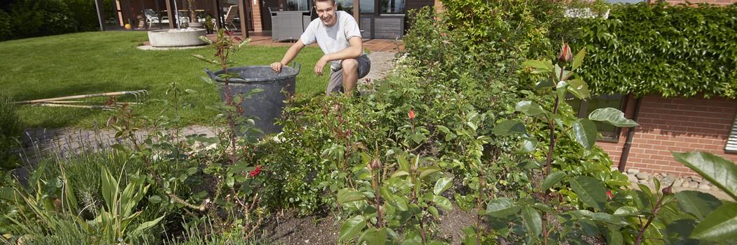Ferienbetreuung Ihres Gartens