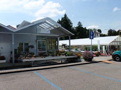 Blumenladen und die Friedhofsgärtnerei in Brugg