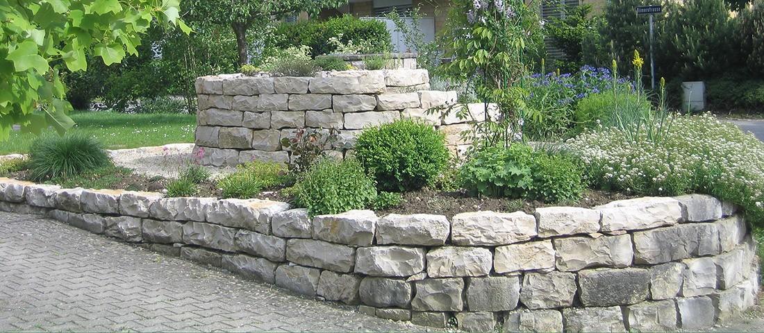 Naturstein Im Garten Reding Garten